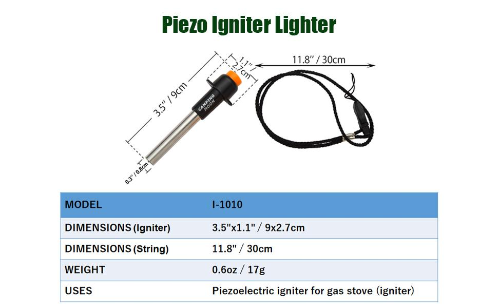 Piezo Igniter Lighter