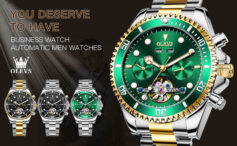 BUSINESS WATCH automatic men watches