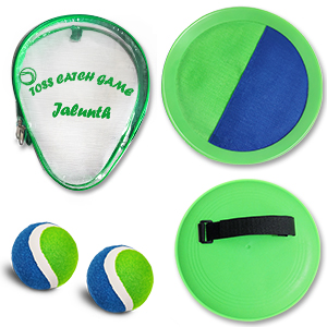 catch ball set with carry bag