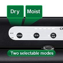 vacuum sealer Dry
