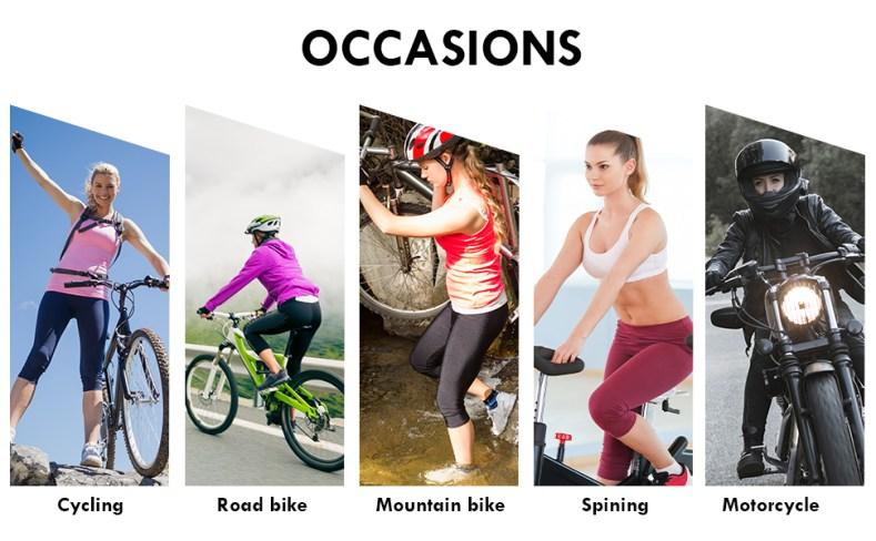 Women's Bike Pants 4D Padded