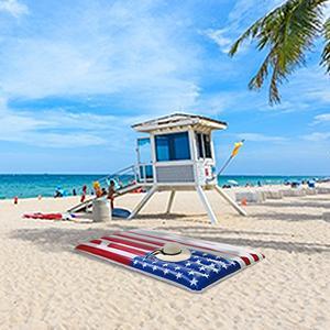american flag floaties