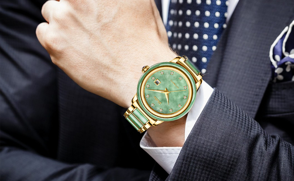 Diella Men's Mechanical Wrist Watch