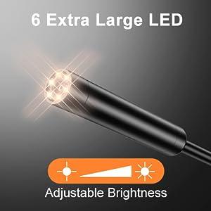 6 Ekstra Büyük LED