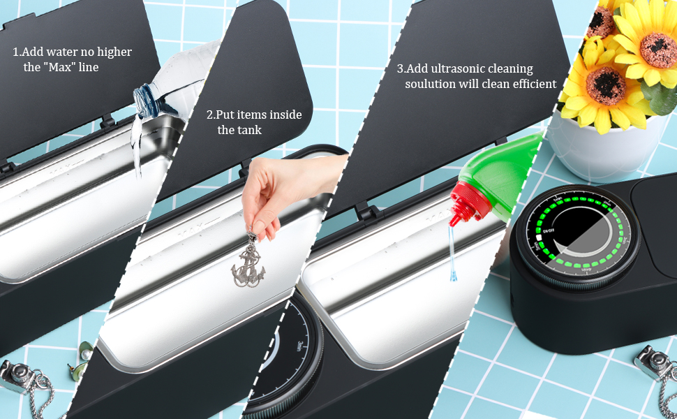 jewelry cleaner instrustion