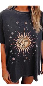 Sun and Moon Graphic Tee