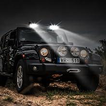 jeep wrangler accessories led work light led pod light work light led led off road lights