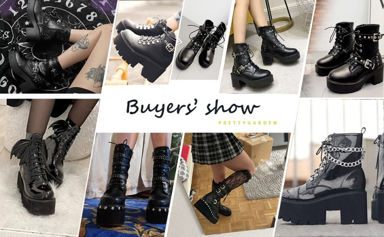 Women's Sexy Platform  Chunky Block Heel