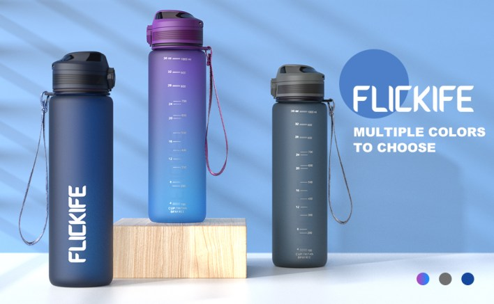 32 oz leak-proof Tritan BPA-free sports water bottle