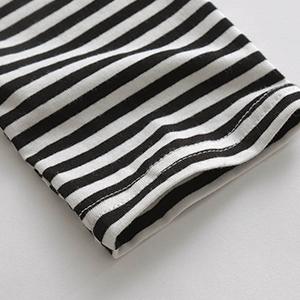 Unique Stripe Sleeve Design