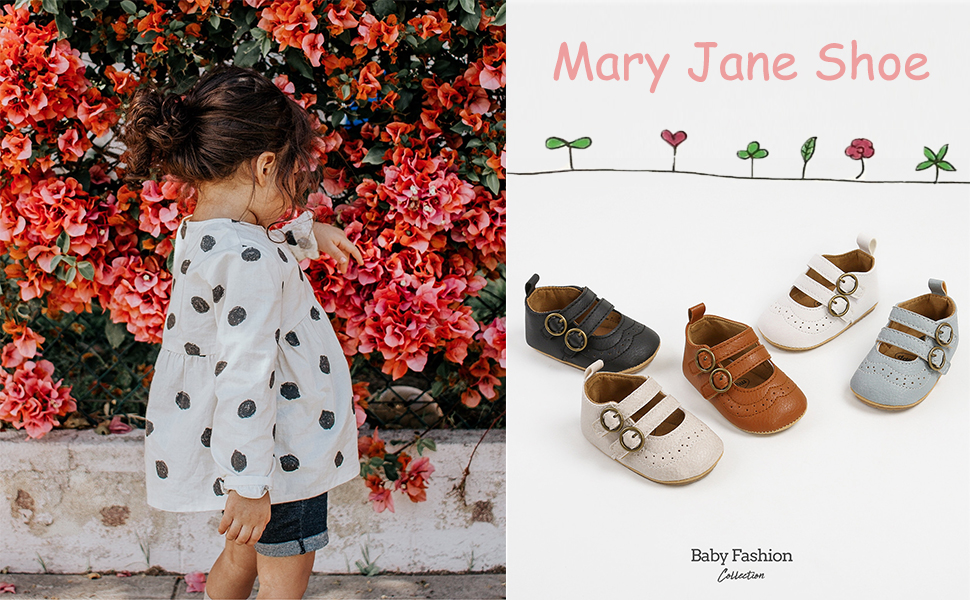 Girls' shoes, formal shoes,  flat shoes, baby princess shoes, Mary Jane shoes, children's shoes