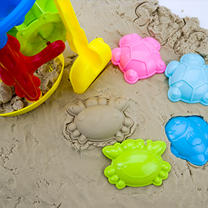 Bright Colors beach toys