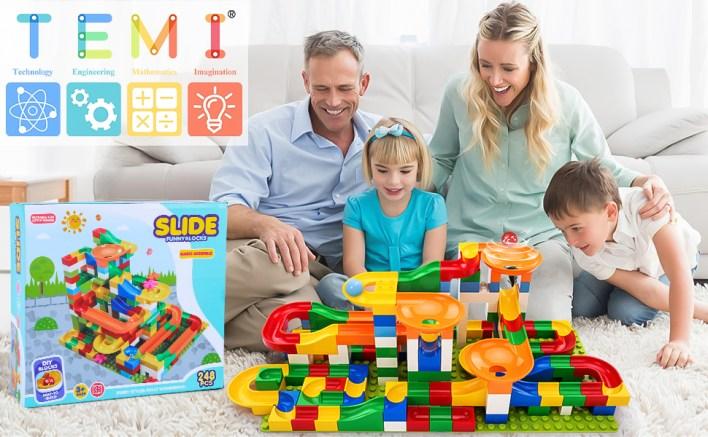 marble run building blocks