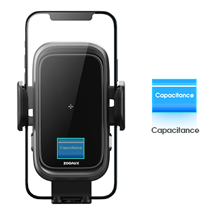 Auto-Clamping Car Wireless Charger