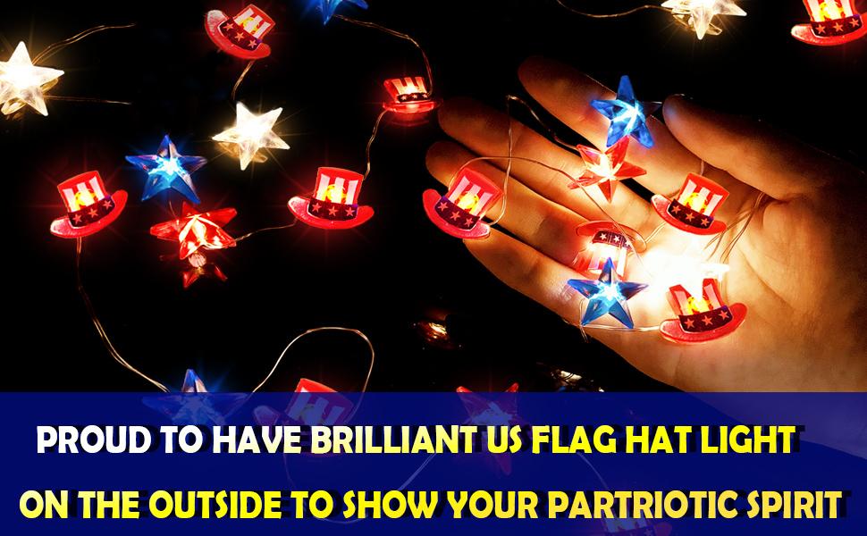 patriotic decor patriotic decorations lights