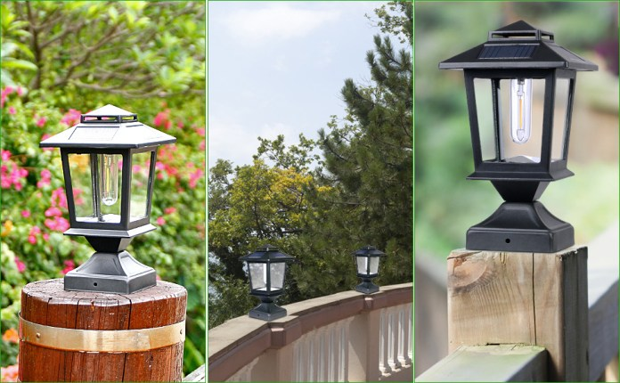 Post Lights for Wooden Post