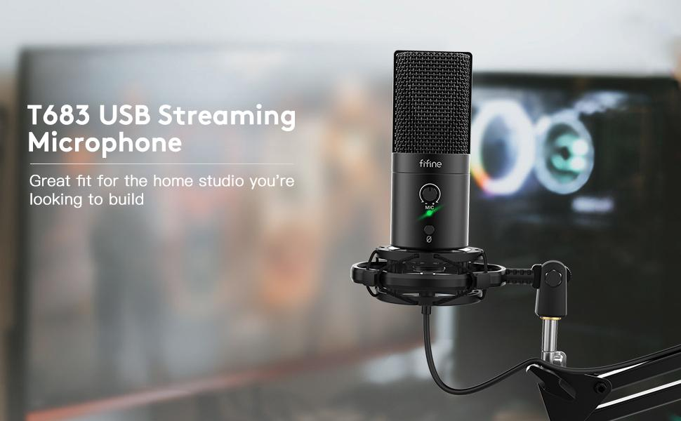 FIFINE USB Streaming Mic