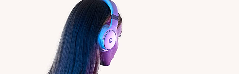 over ear headphones with microphone