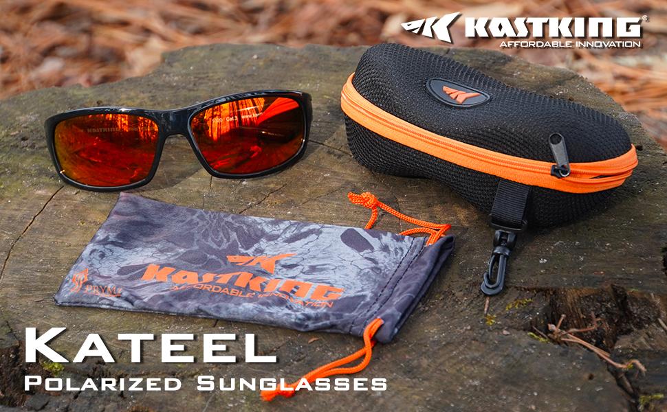 KastKing Kateel Polarized Sport Sunglasses for Men and Women, UV Protection