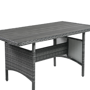 7 Piece Outdoor Patio Furniture Set PE Rattan Wicker Sofa Set Outdoor Sectional Furniture Chair Set