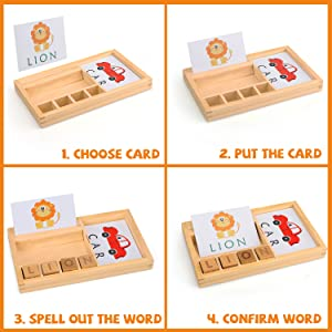 TOY Life Spelling Games for Kids Ages 3 4 5 6 7 8