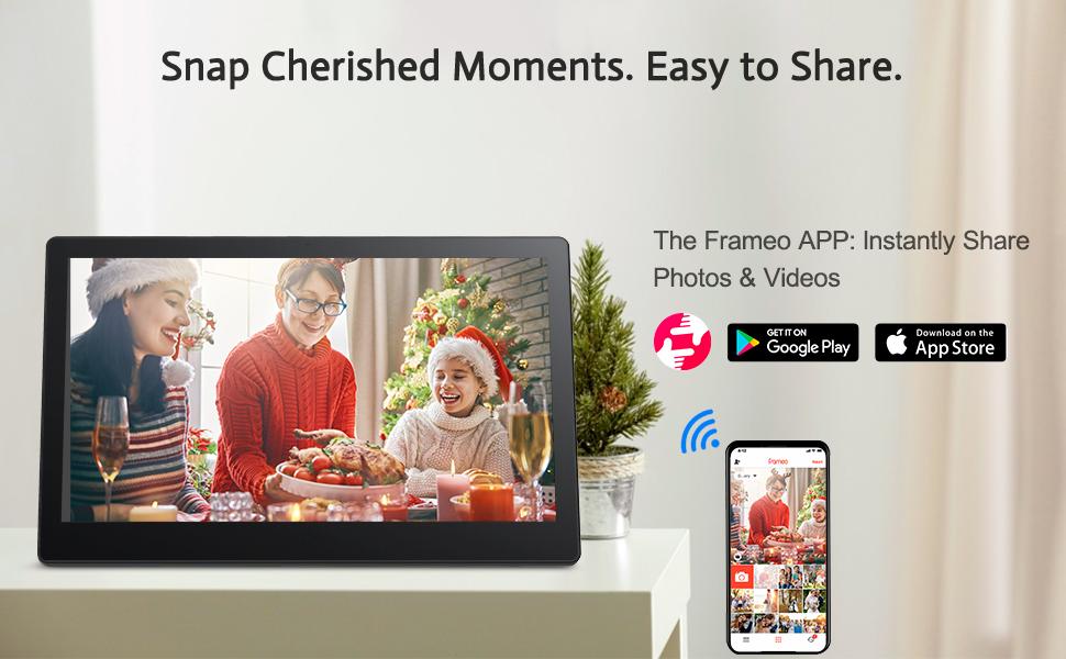 Smart digital frame