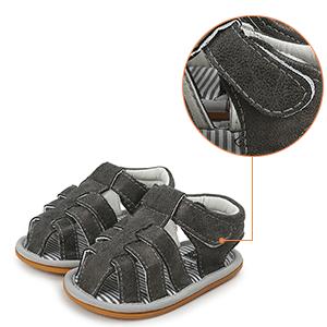 Velcro shoe buckle