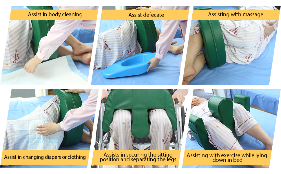 Assist in body cleaning Assist defecate Assisting with massage
