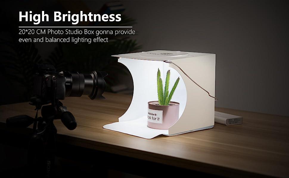 LightBox Fotografia Prodotto portatile Fotocamera Tenda per foto