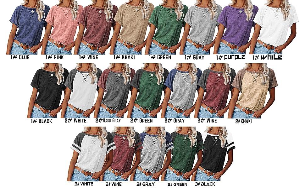 raglan shirt for women