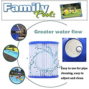 Greater water flow