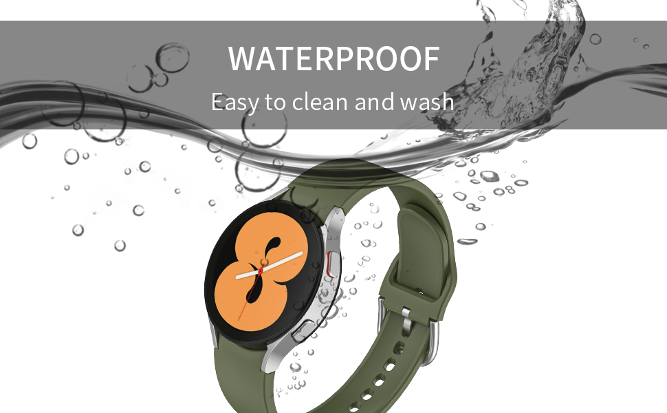 silicone band for galaxy watch 4 band