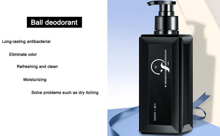 Ball deodorant