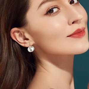 Hypoallergenic Leverback Hoop Earrings