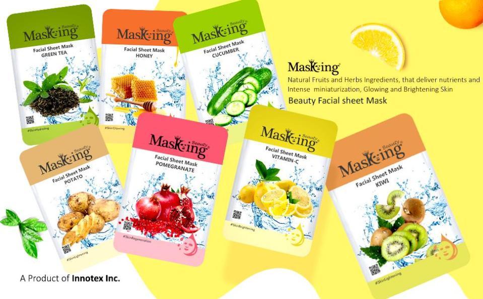 Facial Sheet Mask for Women Sheet Mask combo