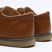 Boys and girls shoes, boys dress shoes, toddler dress shoes, lace-up Oxford shoes, uniform shoes