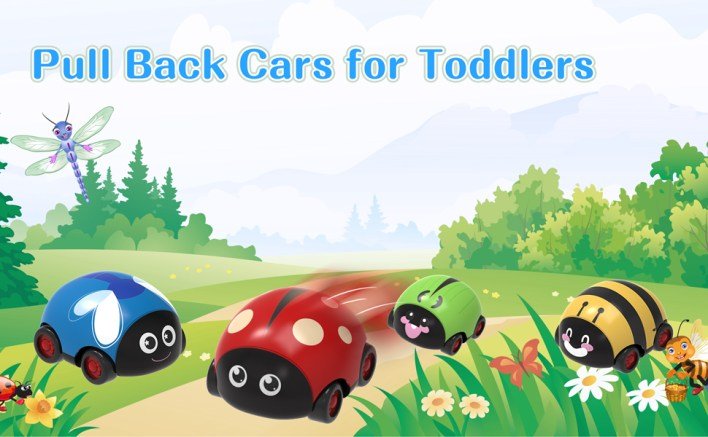 Baby Pull Back Cars