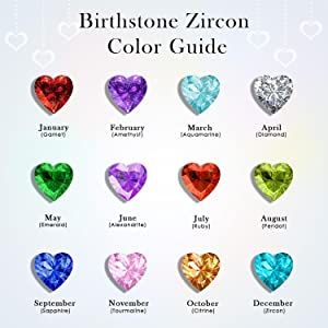 Birthstone Zircon