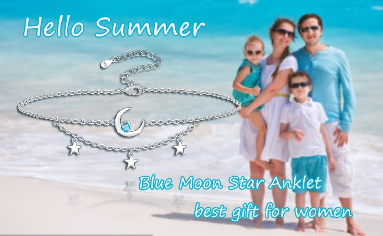 Moon Star Anklet