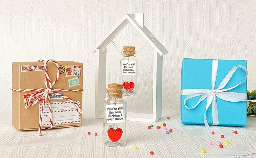 Unique Wedding Anniversary or Romantic Xmas Gift for Him or Her