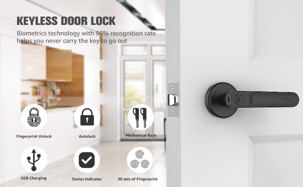 Anahtarsız kapı kilidi