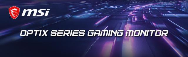 Optix Gaming Series Monitor