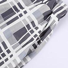 Mabecol Schlafanzug Damen Kurz Pyjama 8