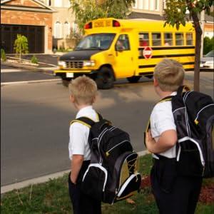 Boys School Uniform Slip-on Dress Shoe (Little Kid/Big Kid)