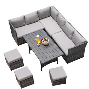 Outdoor Patio Furniture Set Outdoor Sectional Furniture PE Wicker Patio Sofa Backyard Couch