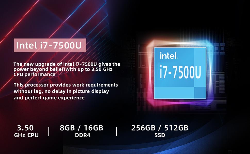 Intel i7-7500U CPU