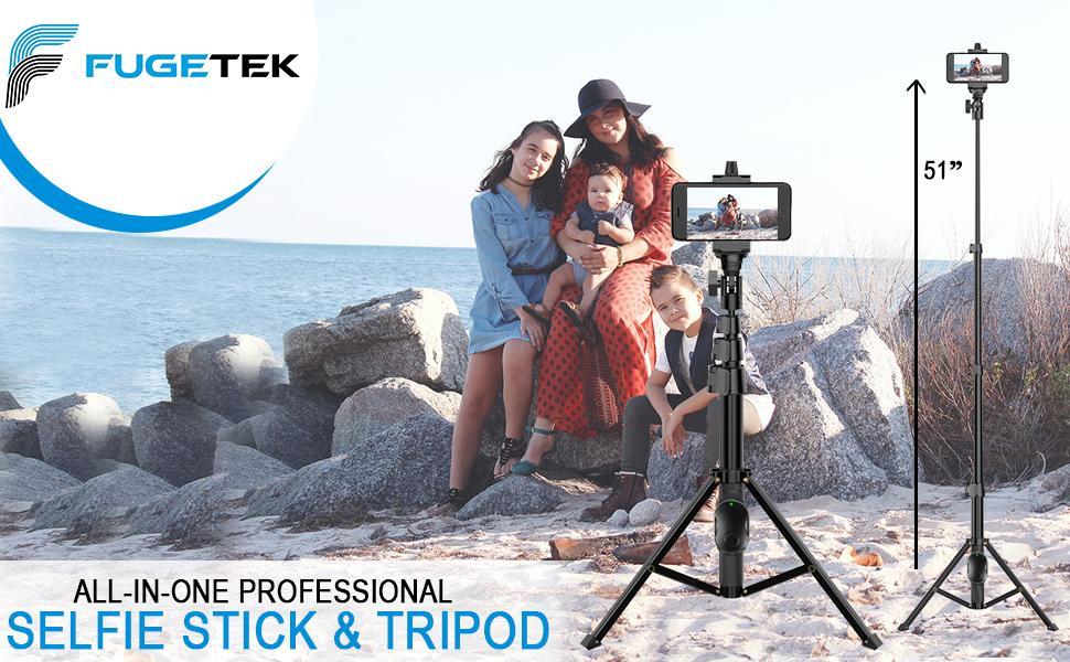 fugetek selfie stick tripod