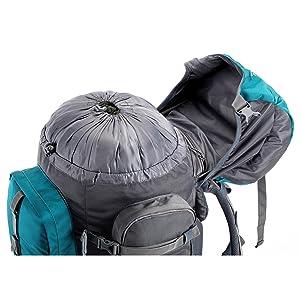 tripole walker rucksack top opening with hidden pocket