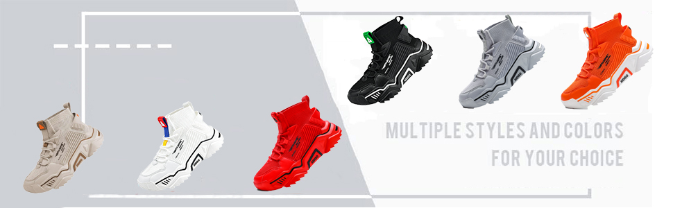 mens shoes slip on white shoes leisure sneakers men high top shoes tennis running shoes