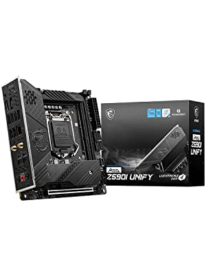MSI MAG Gaming PLUS Motherboard Intel 11th Gen Gaming